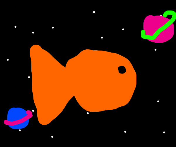 a space fish