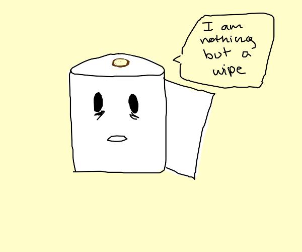 Self-Aware Toilet Paper