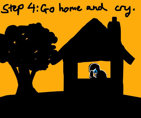Step 3: Run Away