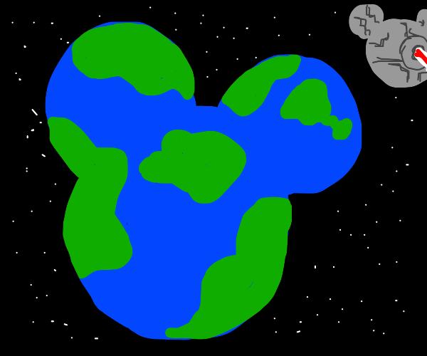 Disney buys Earth