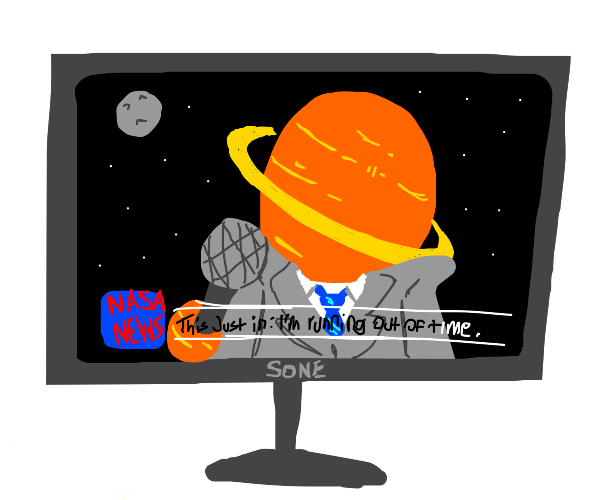 Saturn on the news