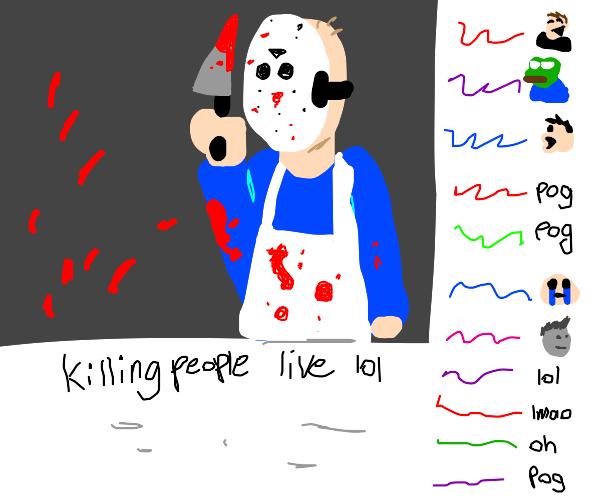 twitch-stream serial killer
