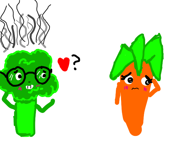 smoking brocoli nerd trying to get  a girlfri