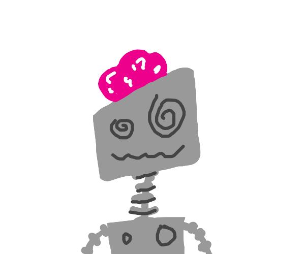 Robot has brain