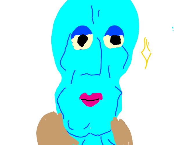 handsome squidward face
