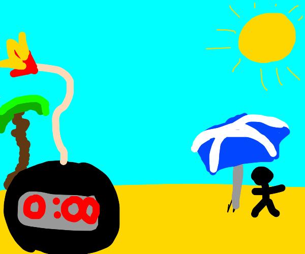 Bomb on a Beach