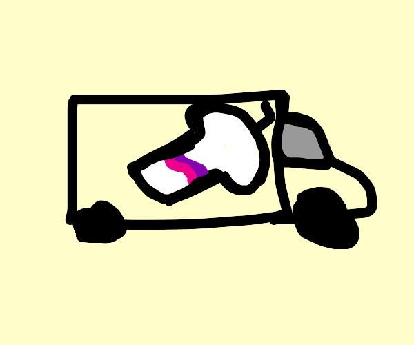 Milkshake Truck Driver