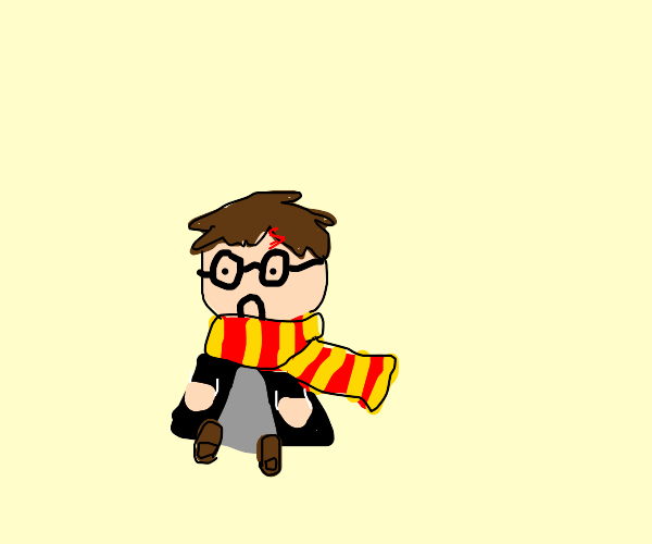 Harry potter is very sad