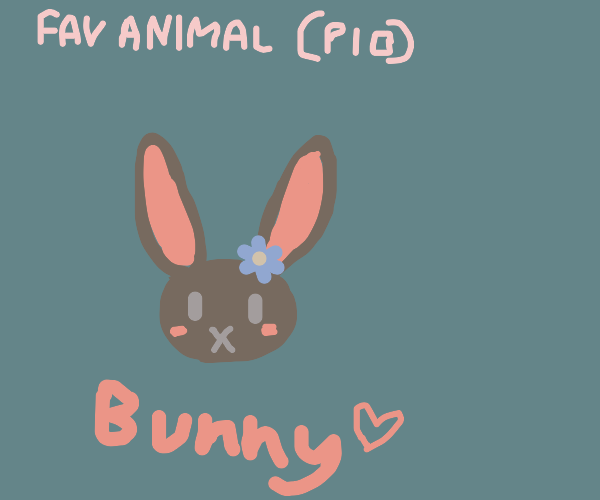 fav animal PIO ( my favs are fennec foxes! )