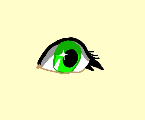 Really detailed eye (looks amazing btw)