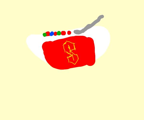 super cereal bowl
