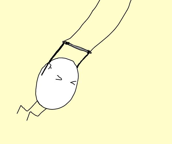 egg trapeze!