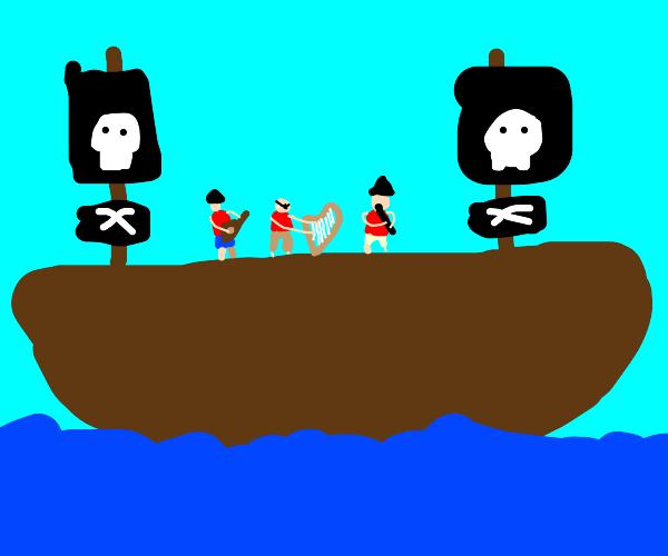 Pirate musicians