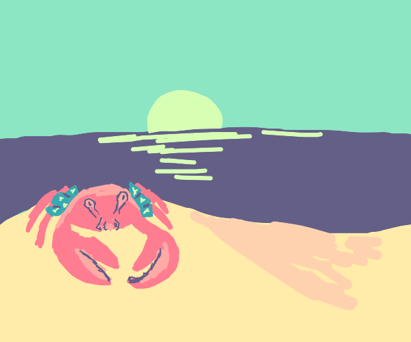 Crab In Shorts