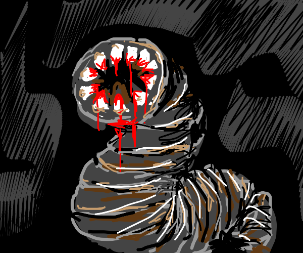 Blood sucking parasite