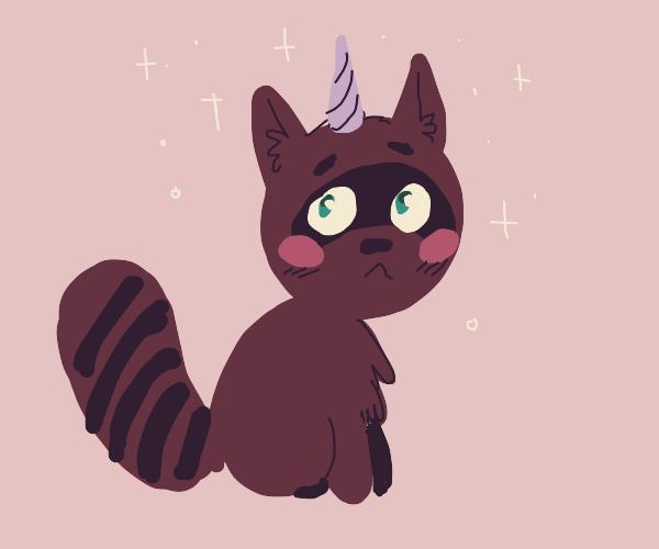 unicorn racoon