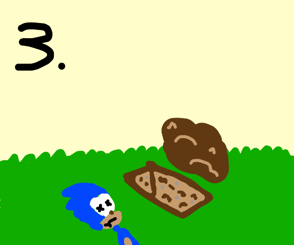 Step three dispose of sonic's body