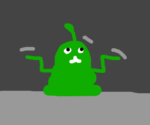 tiny little groovin' alien