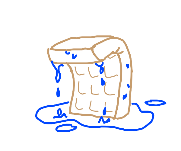 wet waffle