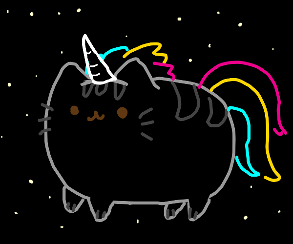 Pusheen Space Unicorn
