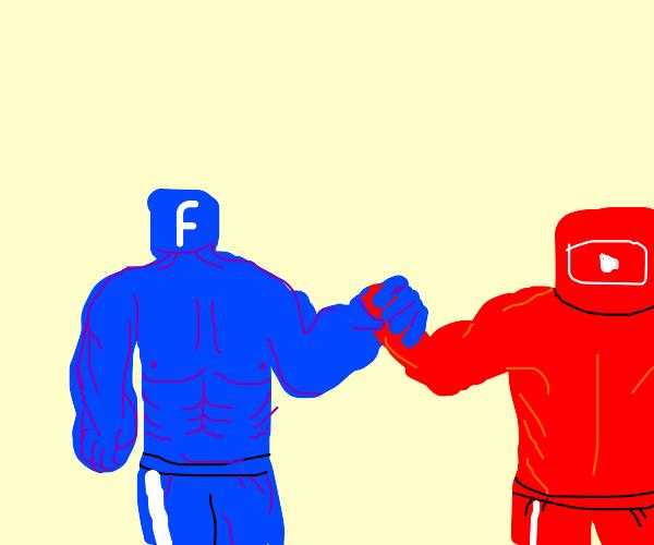 Social media fight!