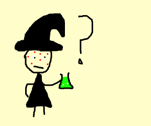 Sorceress wonders if potion will cure acne