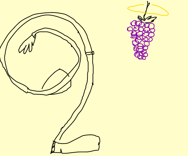 worshipping the almighty grapes