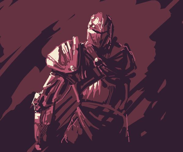 Knight in shining diamond armor