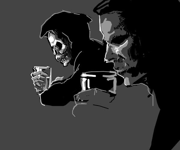 Drinking with death