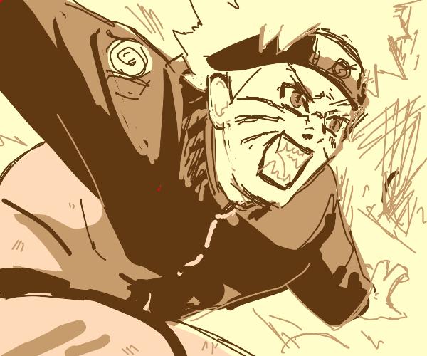 Naruto Kyuubi RAGE