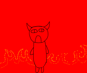 Le reddit army has arrived xd bacon narwhale - Drawception