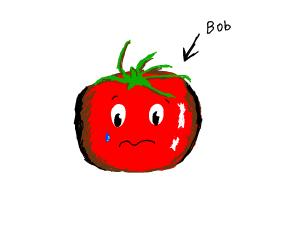 Bob the tamato is sad