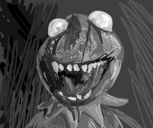 Zombie Kermit.