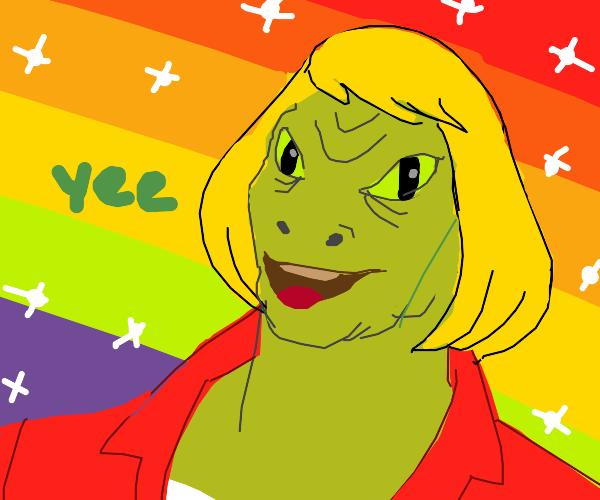He-man lizard chimera