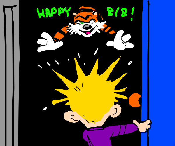 twisted calvin and hobbes celebration