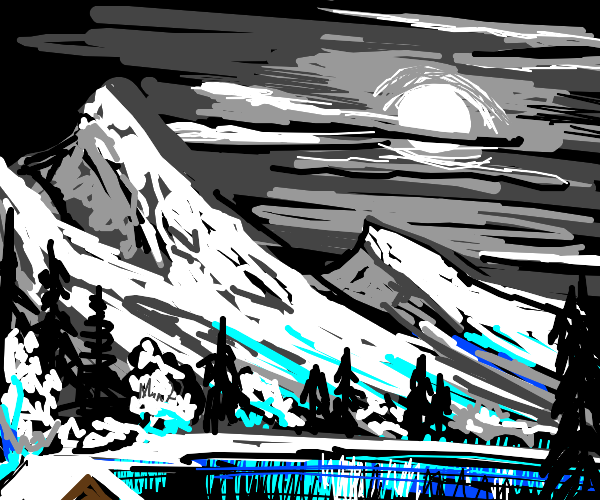 draw your best landscape