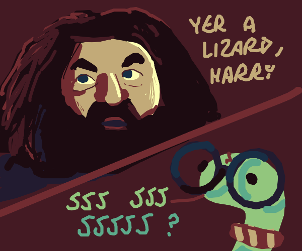 Harry Potter is a snake