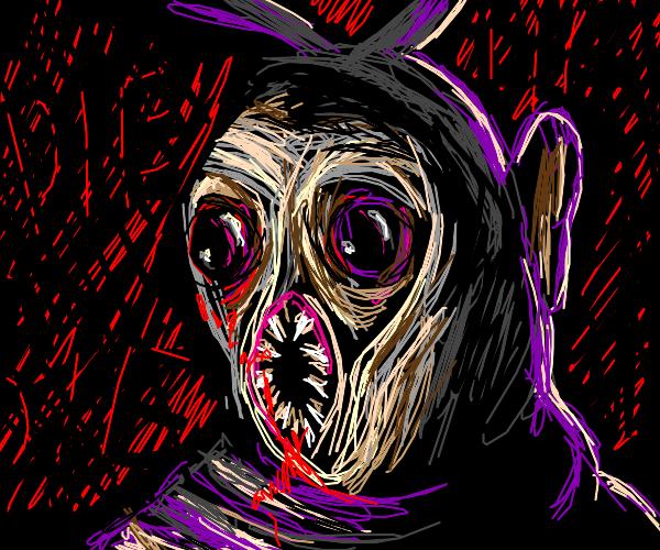 Murderous Teletubby (Tinky Winky)