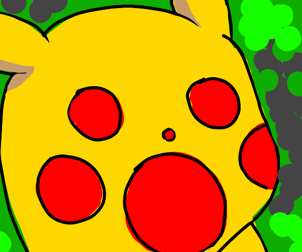 PIKACHU HAS NO EYES