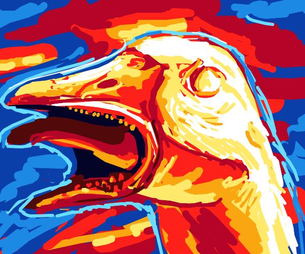 Evil Goose!