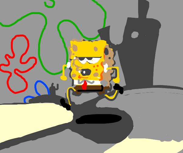 Spongebob is ready