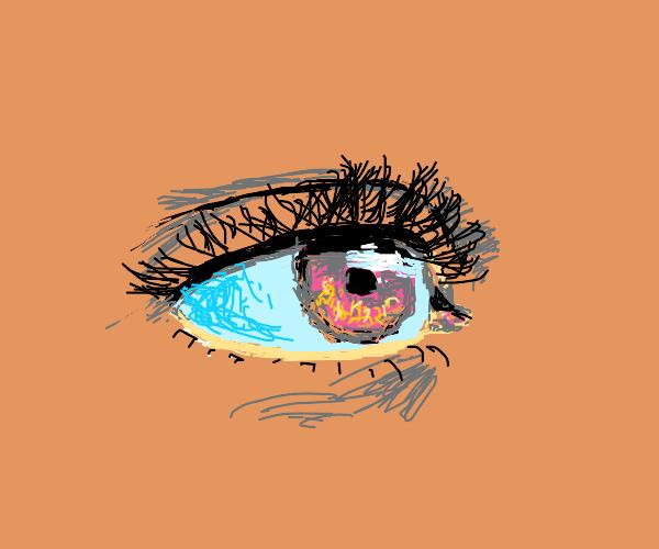 Very detailed eye