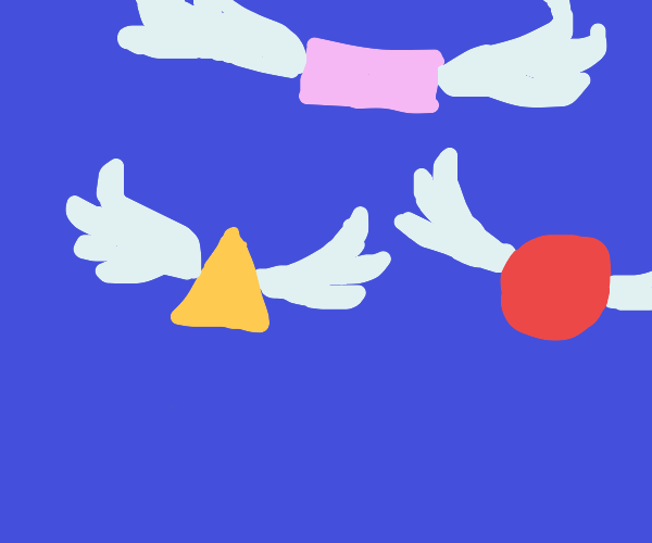 shapes with wings