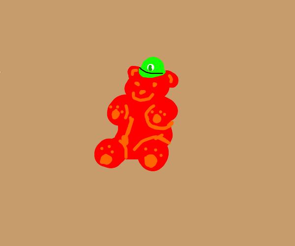 luigi gummy bear