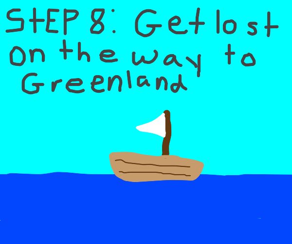 Step 7: Fake your death and move to Greenland