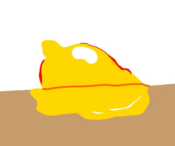A lemon is melting ;(