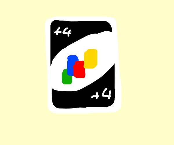 UNO draw 4