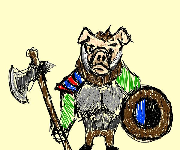 Knight Boar