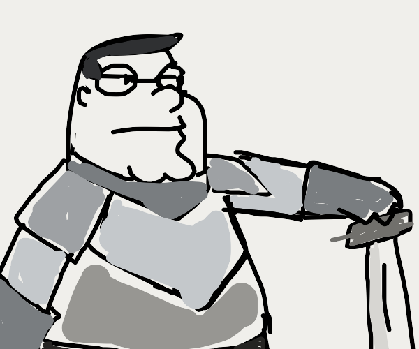 Peter griffin the knight