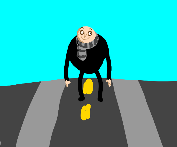 Gru on the streets